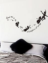 настенные наклейки Наклейки на стены, Секорд звездочку, расположенную справа английских слов&цитирует наклейки стены PVC