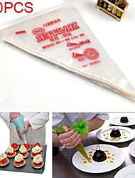 100pcs Disposable Icing Piping Cake Pastry Tip Cupcake Decorating Bags Tool