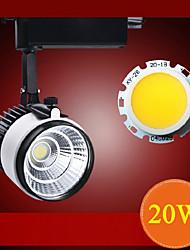 20w cob levou holofotes da loja de roupas luz conduzida da faixa 1800lm AC85-265V