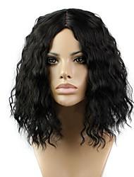 - für Damen - Kunststoff Locken/Kinky-Curly