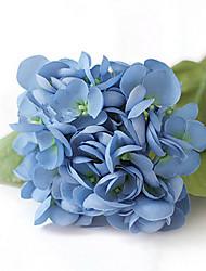 hortensias de sirène bleu fleurs artificielles set 2