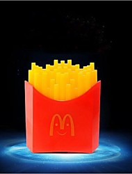Waterproof French Fries Induction Lamp Night Light  AC 220-240 V