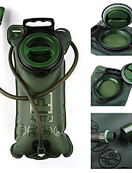 AOTU Shock Resistance Water Bladder Camping & Hiking/Climbing/Traveling 2 L Army Green TPU