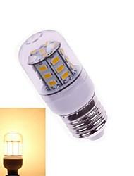 3W E26/E27 Ampoules Maïs LED T 27 SMD 5730 200-300 lm Blanc Chaud DC 24 V 1 pièce