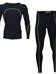 Running Compression Clothing / Clothing Sets/Suits Men's Long SleeveBreathable / Quick Dry / Wearable / Antistatic / Static-free /