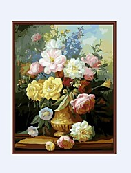 """Floral/Botanical Oil Painting Hand-Painted Canvas Wall Art 16"""" x 20"""" (40 x 50cm) One Panel Ready to Hang"""
