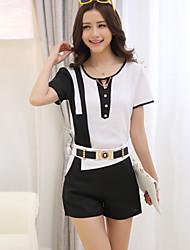 Women's Fashion OL Elegant Suit (Shirt & Pant)