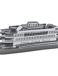 Metal 3D funciona fascínios modelo balsa de Staten Island 1: 1100