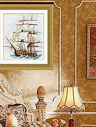 Diamond Cross Stitch Needlework Wall Home Decor Diy Diamond Painting Free Embroidered Cross 36cm*41cm