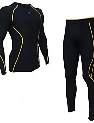 Running Compression Clothing Men'sBreathable / Moisture Permeability / Quick Dry / Wearable / Antistatic / Static-free / Compression /