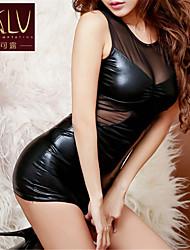 Camisas e Vestidos/Ultra Sensual ( Renda/PU ) Mulher