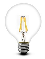 E26/E27 4W 350 LM 2700K Warm White G Globe Bulbs LED Filament Lamps 220-240V / 110-130V