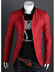 Super Hot Men's Casual V-Neck Long Sleeve Suits & Blazers