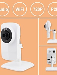 Box Mini Indoor IP Camera For Baby 720P  IR-cut Motion Detection Day Night Wireless