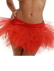 Polyester/Organza Slips A-Line Slip Short-Length Sexy Petticoats(More Colors)
