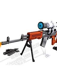 ausini anti-réel assemblé SVD fusil de sniper jouets éducatifs