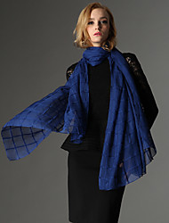 Zizhen informal todo bufanda de seda de partido de las mujeres