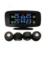 Sistema de Monitoramento de Pressão de Pneu com 4 Sensores Externos, PSI/BAR, TPMS PSI, Ferramentas de Diagnóstico