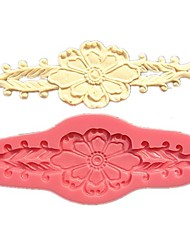 Big Flower Relief Lace Cake&Chocolate Molds