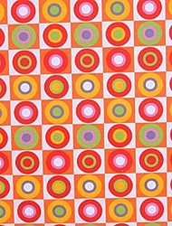 Orange Cotton Printing Fabric Cloth ,150cm Wide - Sold By The Meter