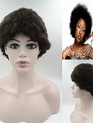 #1B 6inch Brazilian Hair wig Exquisite Women's Hairstyle wigs Short Hair Wigs AFRO