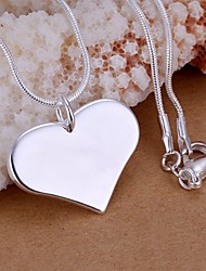 Women's Pendant Necklaces Sterling Silver Fashion Jewelry Wedding Party Daily Casual 1pc
