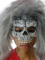 King of Skeleton Latex Mask for Halloween