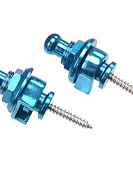 Guitar Strap Lock Blue Schaller Style Guitar Strap Locks 10PCS/LOT MU0738