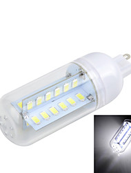 Marsing G9 8W Cross Board 800LM 6500K/3000K 48-5730 SMD Warm/Cool White Light LED Corn Bulb (AC 220~240V)