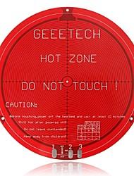 geeetech rodada PCB heatbed para delta Rostock mini-impressora 3D (12v)