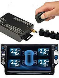 Car TPMS for Car DVD Player,Car Tyre Pressure Monitoring System,Auto TPMS 4 external Sensors Tyre Pressure TPMS PSI