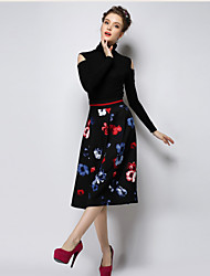 Women's Fashion Major Suit All-match Skirt