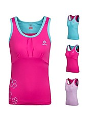 Outdoors Summer Women's Spandex Red Light Blue and Lavender Colors Quick-drying Vest