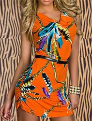 Elegant Lady Terylene Nightclub Uniform