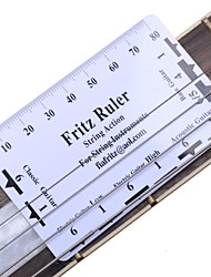 Guitar String Pitch Ruler Fritz Ruler for Acoustic Electric Guitar
