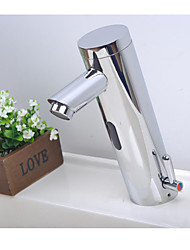 Bathroom Sink Faucet Brass finish with Automatic Sensor (Chrome Finish)