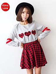 kimolove sexy de manga larga vestido de dos piezas ocasional ™ de la mujer