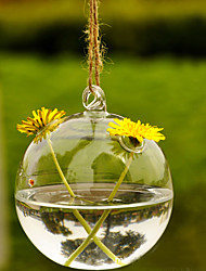 "3.5 ""h micro criativo paisagem 2 gargalos garrafa de vidro"