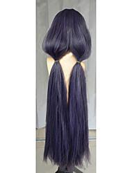 Angelaicos Women Love Live! Nozomi Tojo Mixed Purple Long Straight Ponytail Girls Lolita Halloween Costume Cosplay Wig