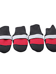 Dog Socks & Boots Red / Black / Blue / Rose Winter Waterproof-Doglemi, Dog Clothes / Dog Clothing