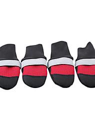 Dog Socks & Boots Red / Black / Blue / Rose Winter Waterproof-Doglemi, Dog Clothes / Dog Clothing