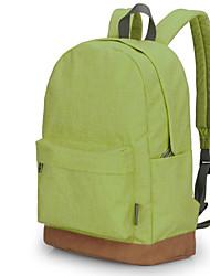 TINYAT Fashion College School Backpack/ Laptop Backpack/Hot Sports Backpack/Green Casual Rucksacks T101