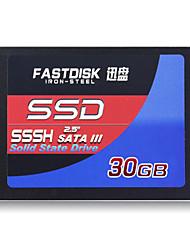 "FASTDISK SSSH30GB  2.5"" Solid State Disk (SSD) Internal Hard Drive SATA III for Laptop"
