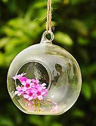 "4.3 ""h criativo enforcamento micro garrafa de vidro paisagem"