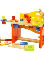 BENHO Tools Set Wooden Building Blocks Baby Toy