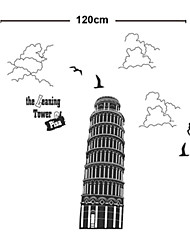 Leaning Tower of Pisa Italy PVC Wall Stickers
