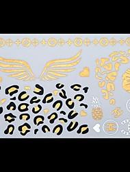 - Tattoo Aufkleber - Muster/Unterer Rückenbereich/Waterproof - Andere - für Damen/Erwachsener/Teen - Mehrfarbig - Papier - 1 Stück - 25*15.5CM