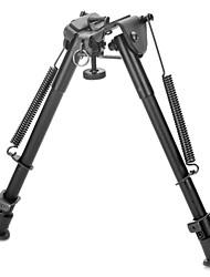 """9 """"intrekbare aluminiumlegering tactische verende bipod geweer staan voor m4 / m16 (max. 80kg)"""