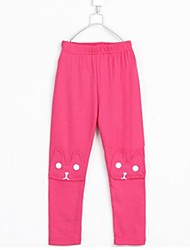 Girl's Fashion Cute All-Matching The Patch Leggings