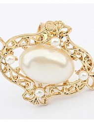 Tina -- European and American Fashion Candy Color Pearl Ring in Wedding